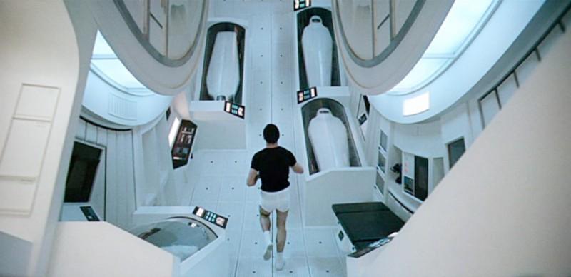 2001 una odisea espacial los simpsons nave
