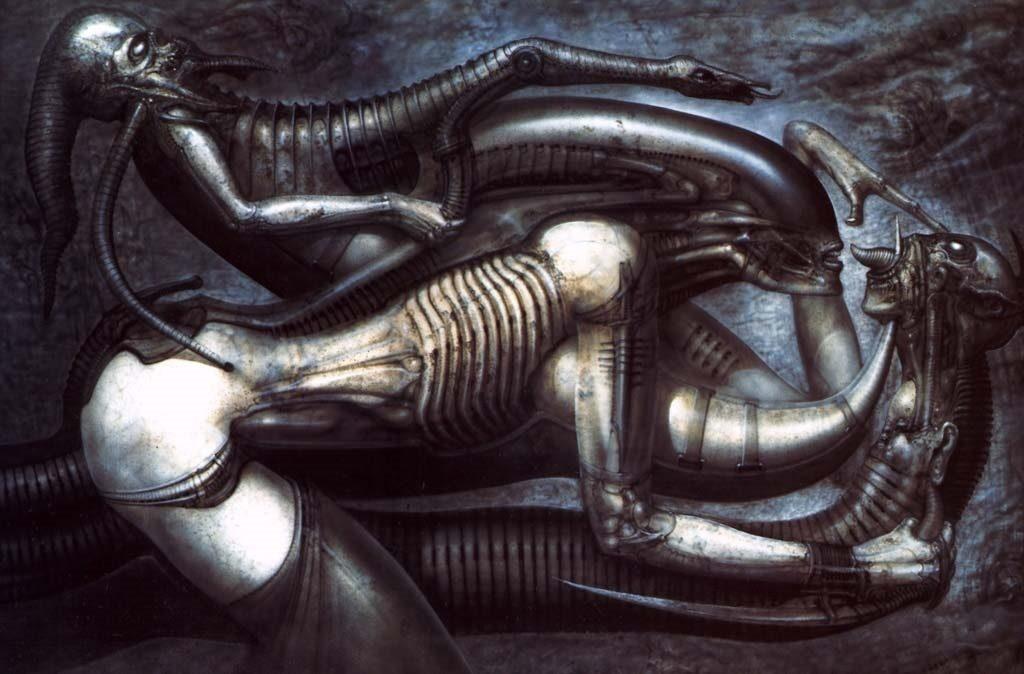 hr giger alien arte