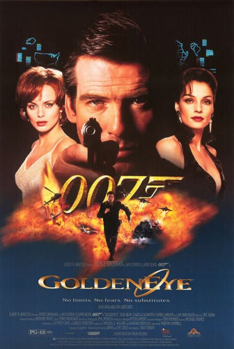 GoldenEye James Bond Pierce Brosnan