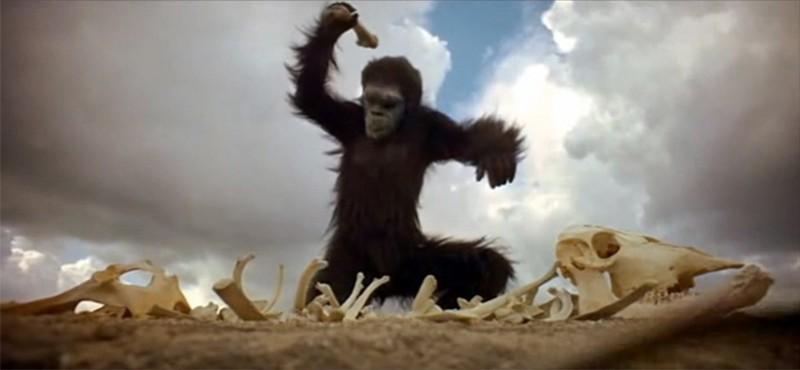 2001 odisea del espacio hombre mono