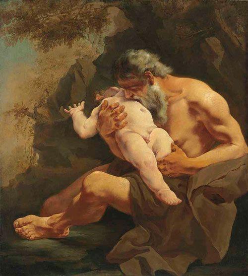saturno devorando a su hijo giulia lama