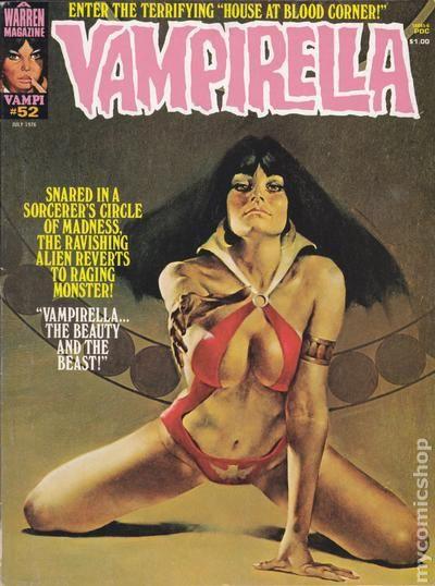 vampirella comic erótico