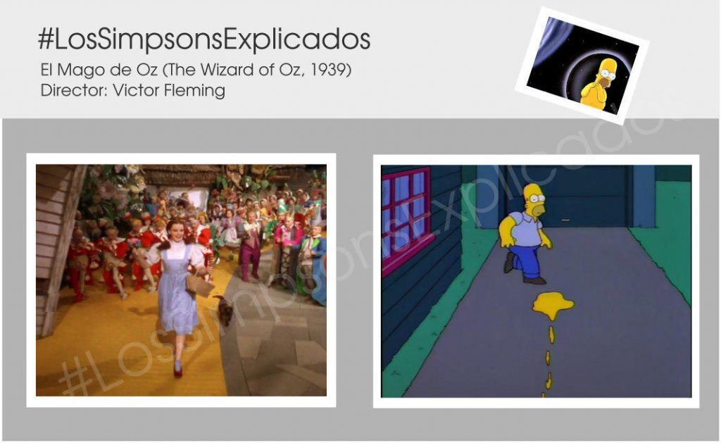 los simpsons explicados mago de oz Follow the yellow brick road drip