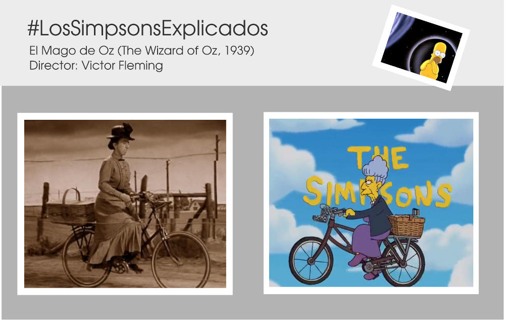 el mago de oz wizard of oz simpsons agnes skinner mrs gulch los simpsons explicados