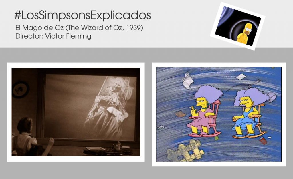 los simpsons explicados patty selma tornado mago de oz wizard of oz