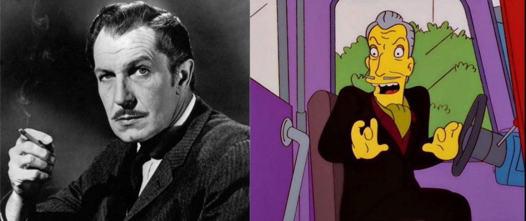 vincent price los simpsons