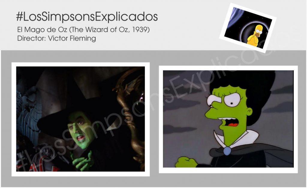 los simpsons explicados brujas verdes marge mago de oz