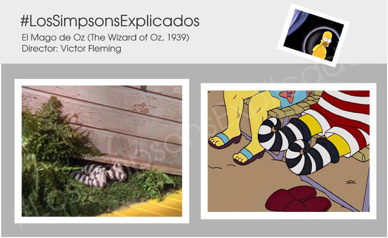 los simpsons explicados abuelo simpson pies bruja mago de oz
