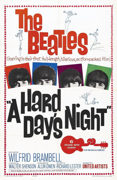 poster a hard day's night