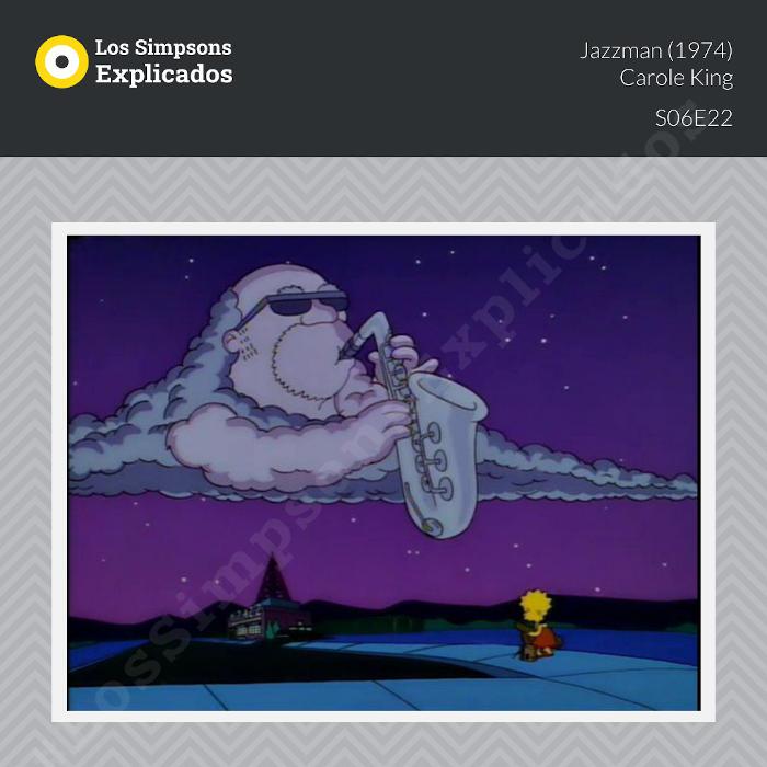 Jazzman - Carole King los simpsons explicados