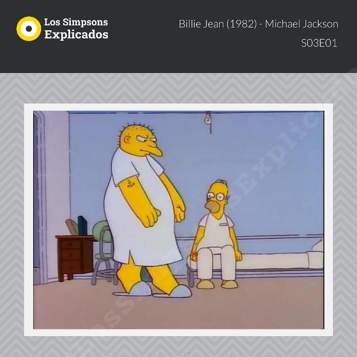 billie jean michael jackson los simpsons explicados