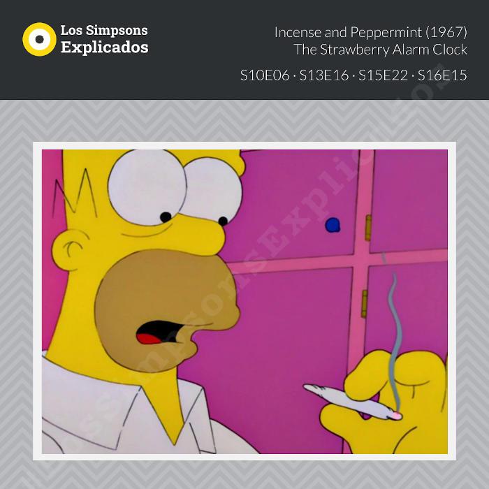 Incense and Peppermint - Los Simpsons Explicados