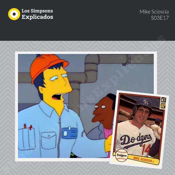mike scioscia los simpsons explicados sóftbol béisbol