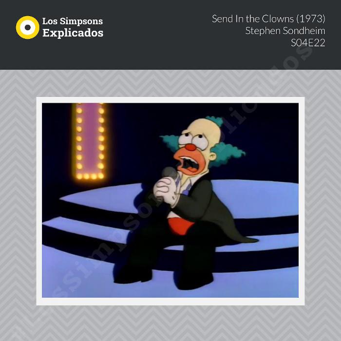send in the clowns los simpsons explicados krusty