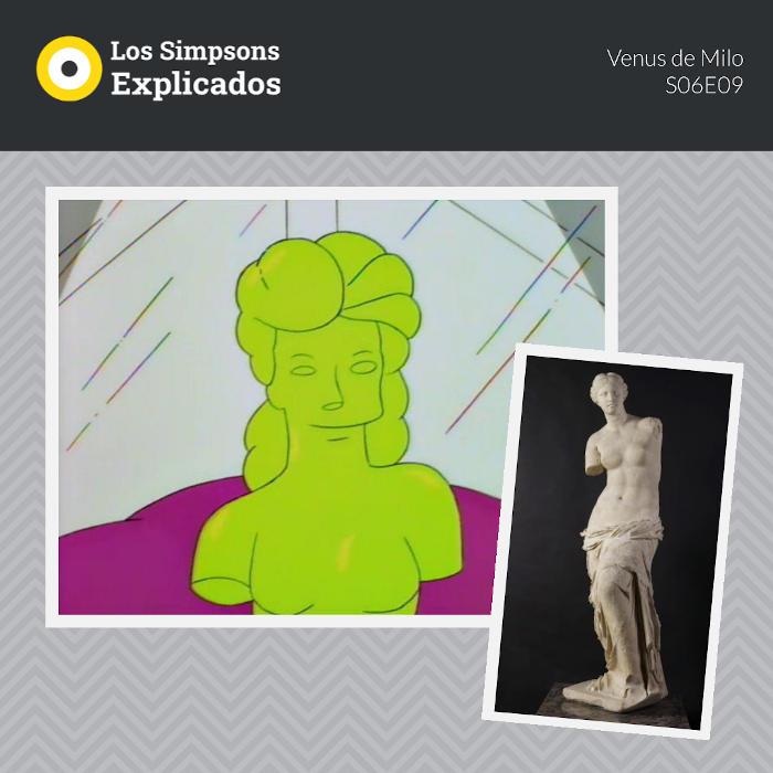 Venus de Milo en Los Simpsons