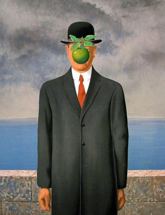 el hijo del hombre rené magritte